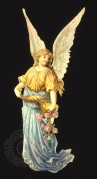 Angel with a horn of roses