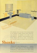 Advert for Shanks bathrooms