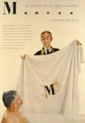 Advert for Martex continental bath towel