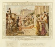 French wedding scene
