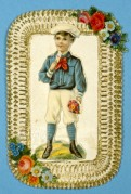 A Sailor Boy with Flowers