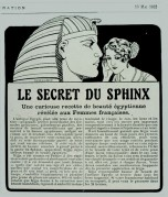 Egyptian beauty recipe revealed to French women