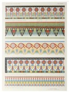 Egyptian decoarating patterns
