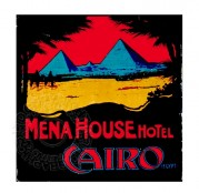 Poster for Mena House Hotel, Cairo
