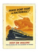 Tanks don't fight in factories!