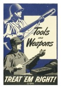 Tools are Weapons. Treat 'em Right