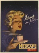 Starry night Nescafe advert in colour