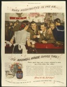 Maxwell House coffee press advert