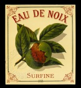 French label for Coconut Water