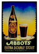 Advert for Abbots Double Stout