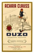 Label for Greek Ouzo