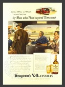 Advert for Seagrams V.O. Canadian Whiskey