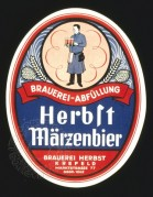 Label for Herblt Maize Beer