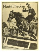 German poster for Henkell Trocken Champagne