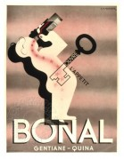 French advert for Bonal, 'opens the appetite'