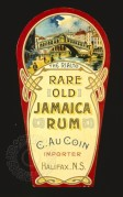 Bottle label for Rare Old Jamaica Rum