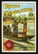 Label for Rhum Tanganika Extra Vieux