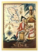 Label for The Rhum Vana from the French Provinces