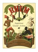 Label for Rhum Superieur Grand Arome
