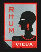 Label for Rhum Vieux