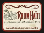 Label for Rhum Taiti