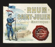 Label for Rhum Saint-Julien