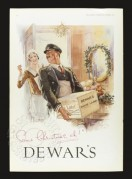 Advert for Dewars Whisky