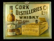 Poster for Cork Distilleries Whisky