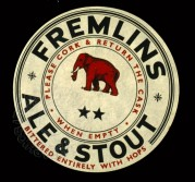 Freemans Ales Cask Label