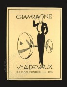 Champagne Magazine Advert