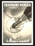 Champagne Mercier Magazine Advert