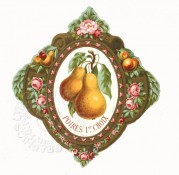 Pears Liqueur Label