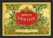 Vanilla Cream Liqueur Label