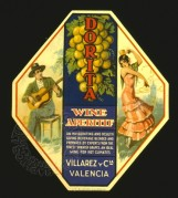 Dorita Wine Aperitif Label