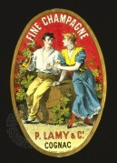 P. Lamy Champagne Label, Printers Sample