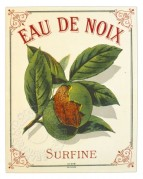 Walnut Liqueur Label