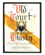 Label for Old Court Whisky