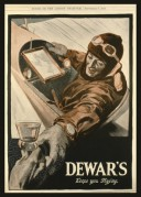 War time advert for Dewars Whisky