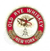 Label for Old Rye Whisky