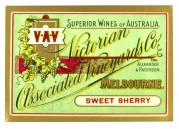 Label for Sweet Sherry