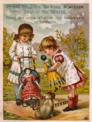 Advert for St John Sewing Machines
