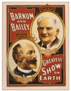 Poster for Barnum & Bailey's Circus