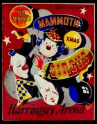 Programme cover for Tom Arnold's Circus