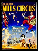 Poster for Bertram Mills Circus