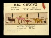 Programme for the 'Big Circus' at Olympia