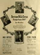 Programme for Bertram Mills Circus