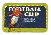 Label for Football Cup
