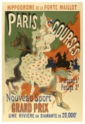 Poster for Horse Racing at the Hippodrome