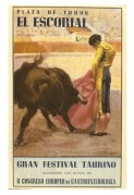 Bullfighting poster