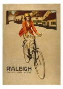 Advert for Raleigh Bikes